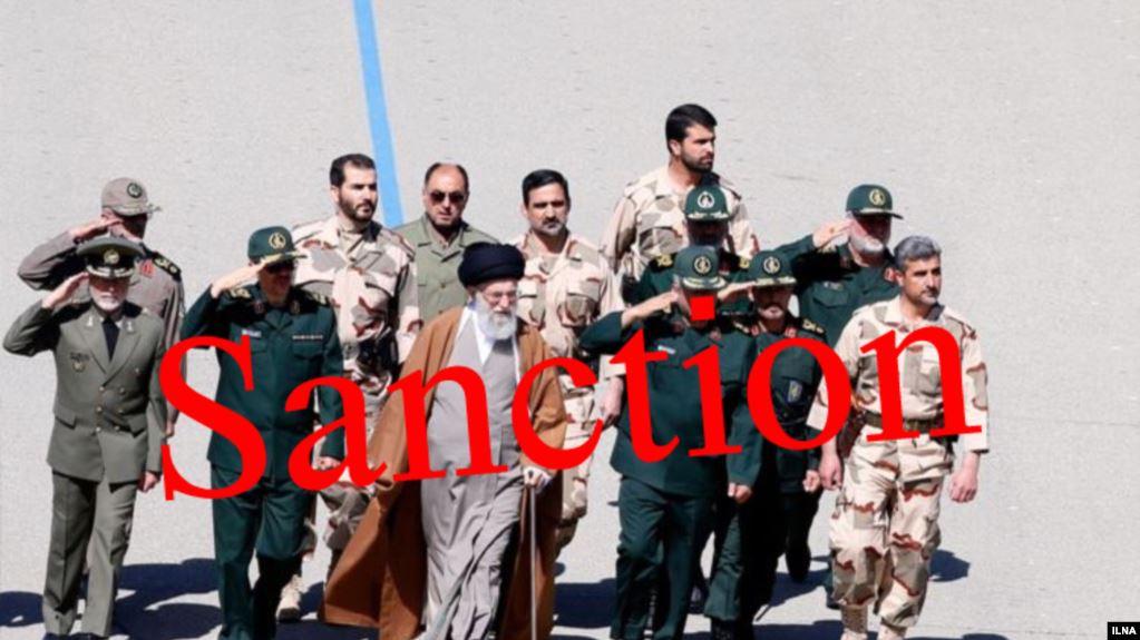 نام هشت فرمانده نظامی سپاه که در کنار خامنهای مورد تحریم جدید آمریکا قرار گرفتند