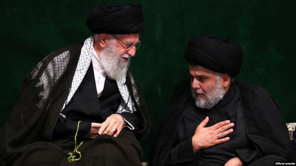 حضور مقتدی صدر در کنار خامنهای پس از سالها تیرگی روابط