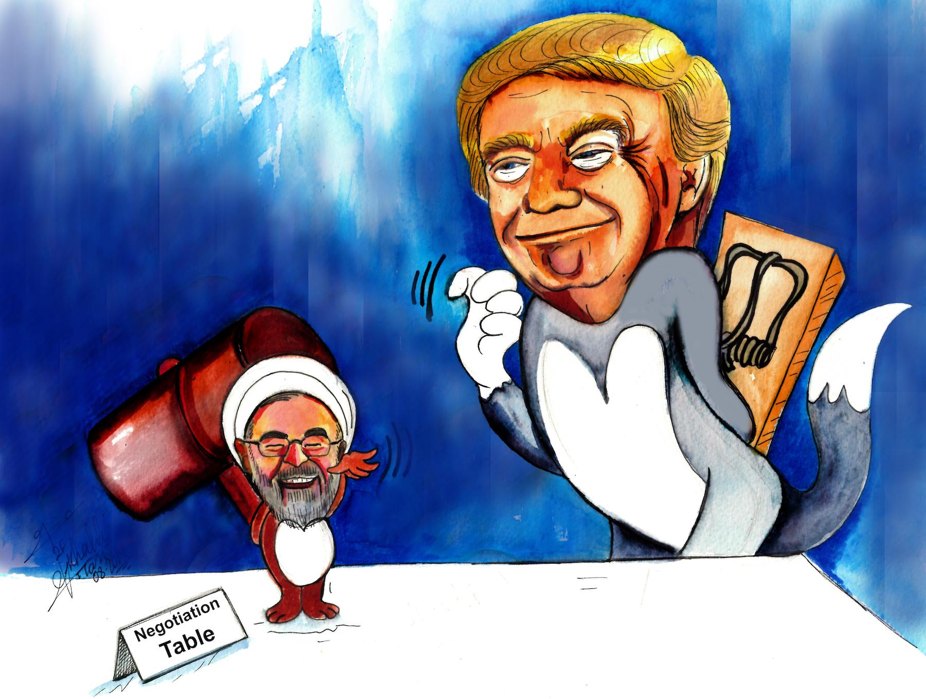 آیا ترامپ درجهت منافع ایران قرار دارد؟ امیر طاهری
