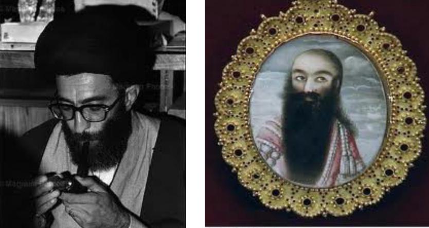 شباهت های سلسله قاجار با جمهوری اسلامی, خامنهای روی فتحعلیشاه را هم سفید کردند!