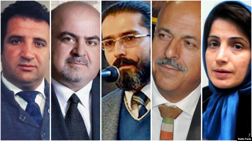 اعطای جایزه حقوق بشری وکلای اروپا به وکلای زندانی ایران