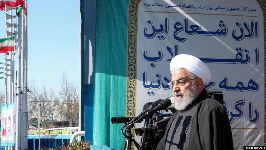 حسن روحانی: اگر رژیم فاسد گذشته به انتخابات سالم تن میداد انقلاب نمیشد