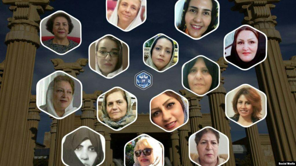 ۱۴ فعال حوزه زنان در ایران خواستار «استعفای علی خامنهای» شدند