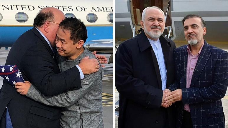 تمامی زندانیان ایران و آمریکا در هر دو کشور در یک نگاه
