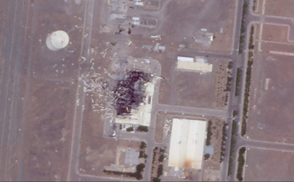 حراستِ نیروگاه نطنز عامل انفجار بود