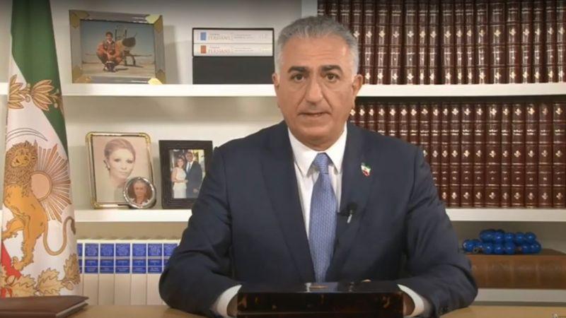 رضا پهلوی خواستار 'اتحاد' اپوزیسیون و پیوند زدن 'اعتراضهای داخل ایران' شد