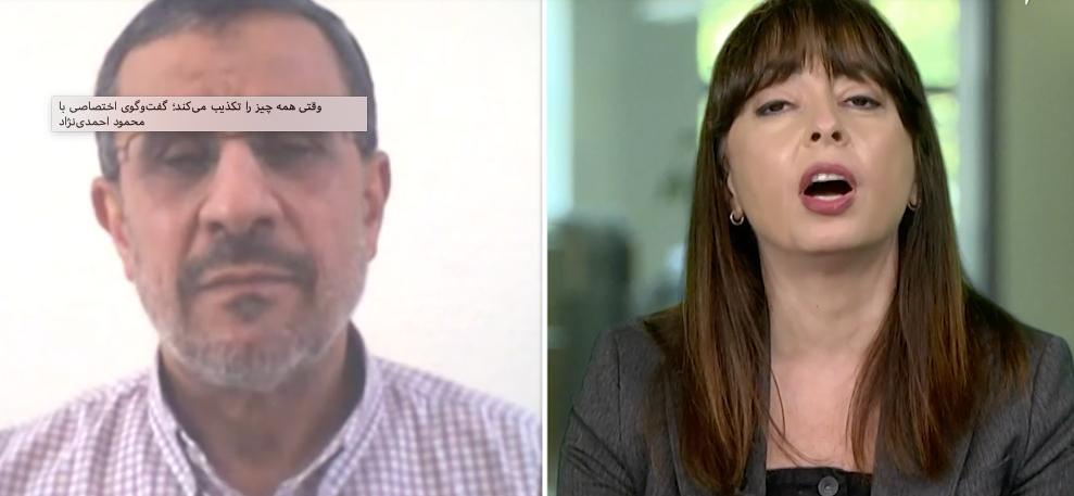 وقتی همه چیز را تکذیب میکند؛ گفتوگو با محمود احمدینژاد