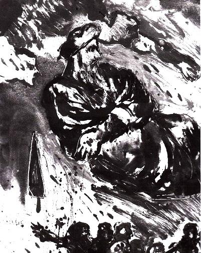 و بعد از عبا، درد دیگر وباست .. که خود عامل درد و رنج و بلاست .. چو حاکم شود بر دیاری عبا  .. در آن نشنوی غیر صوت عزا .. امان از عبا و امان از وبا .. که شد ملت ما بدان مبتلا, ایرجمیرزا