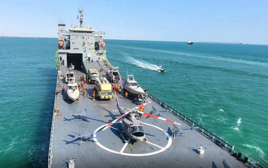 سپاه پاسداران انقلاب اسلامی به دنبال «حضور مقتدر» در اقیانوسها با «شهید رودکی»!