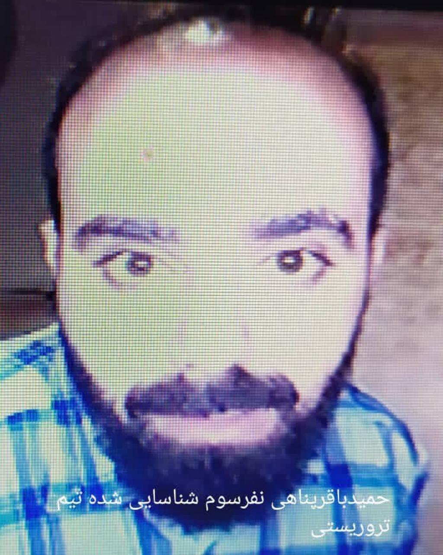 تصاویر چهار تن از ضاربان محسن فخریزاده در هتلهای ایران توزیع شده است