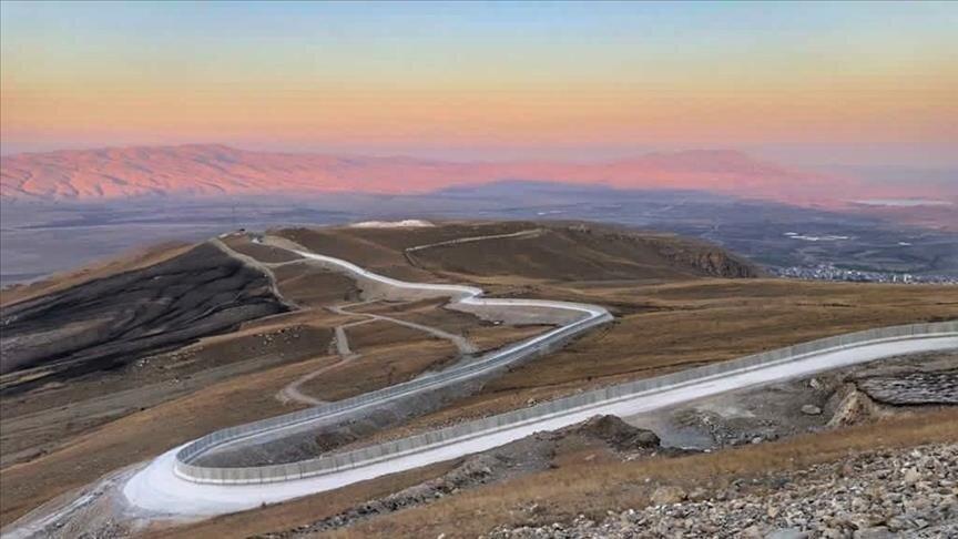 دیوار مرزی ترکیه با ایران