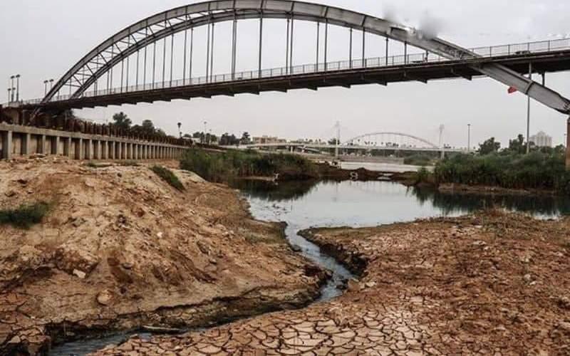 چرا رود کارون و استان خوزستان خشک شدهاند؟