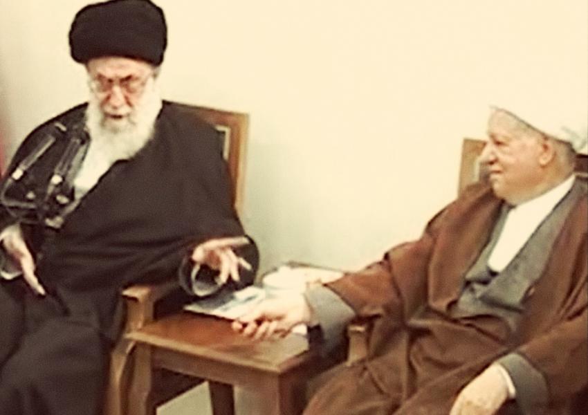 زمینهسازی خامنهای برای برهم زدن مذاکرات هستهای: انتشار فیلم مجادله با رفسنجانی بر سر مذاکره با آمریکا