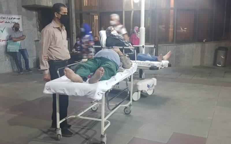 ۳۰ میلیون حق دلالی برای بستری بیمار / کل تهران یک تخت خالی پیدا نمیشود!