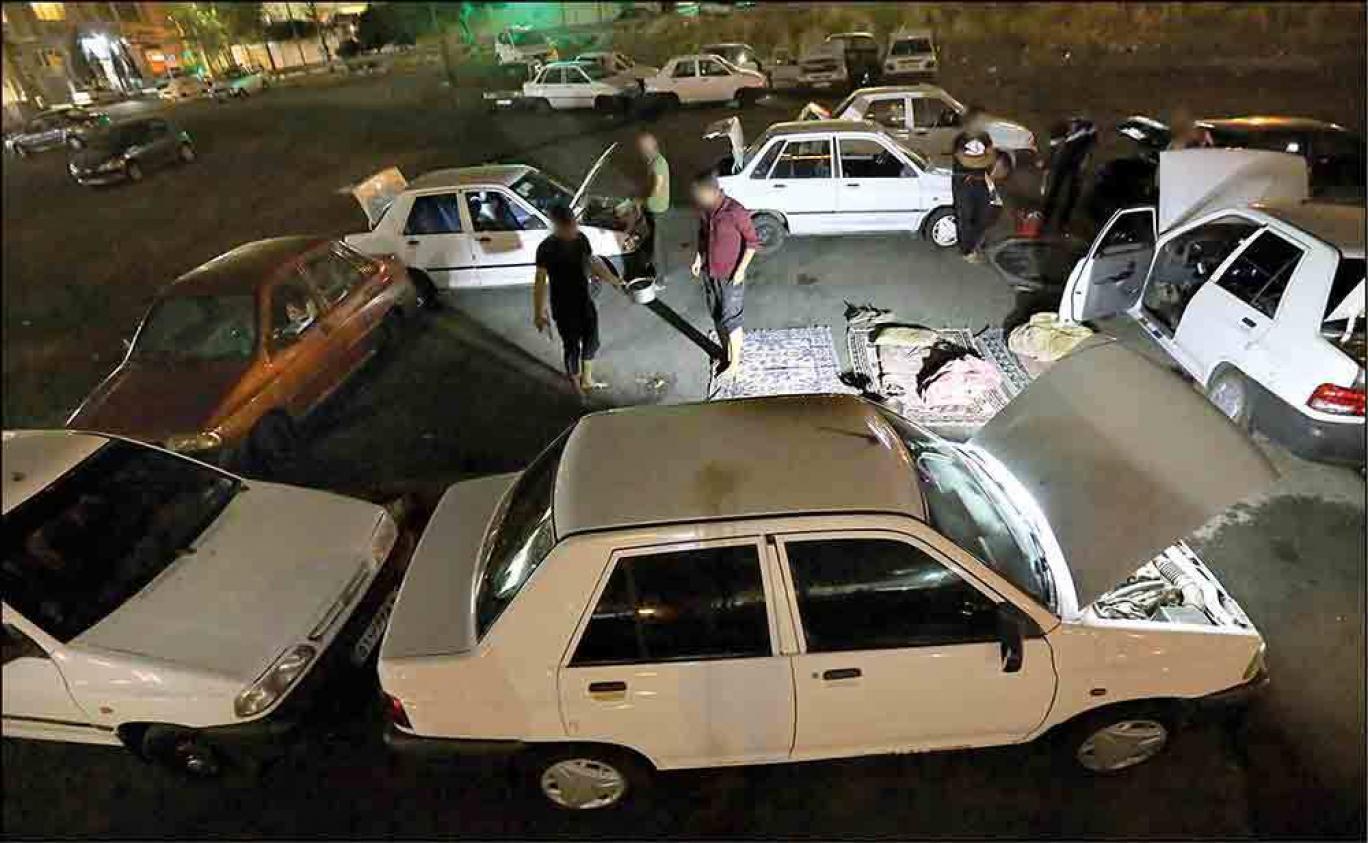 شبانههای تهران و چهره هولناک فلاکت برای ماشینخوابها؛ مسافران تنها